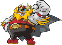 The Shake King, the main antagonist of Wario Land: Shake It!