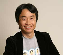 Shigeru Miyamoto Mii T-shirt.jpg