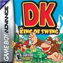 Cover art for DK: King of Swing