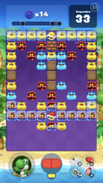 Stage 115 from Dr. Mario World