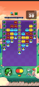 Stage 577 from Dr. Mario World