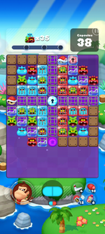 Stage 619 from Dr. Mario World