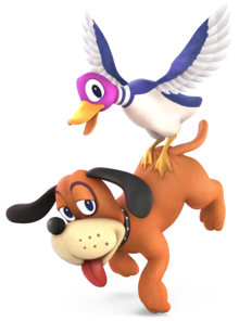Duck Hunt from Super Smash Bros. Ultimate