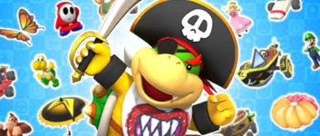 The Pirate Pipe 1 from the Pirate Tour in Mario Kart Tour