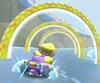 The Wario Cup Challenge from the Ice Tour of Mario Kart Tour