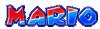 Mario's name from Mario Kart Arcade GP 2
