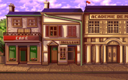 Paris in the PC release of Mario's Time Machine