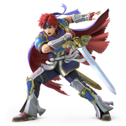 Roy from Super Smash Bros. Ultimate