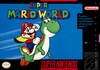 North American box art for Super Mario World