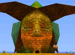 Banana Fairy Island in the game Donkey Kong 64.