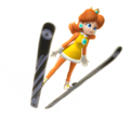 Daisy Artwork - Mario & Sonic Sochi 2014.png