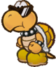 A KP Koopa from Paper Mario: The Thousand-Year Door.