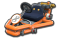 Thumbnail of Bowser's Pipe Frame (with 8 icon), in Mario Kart 8.