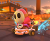 The icon of the Pauline Cup challenge from the New Year's 2021 Tour and the Baby Rosalina Cup challenge from the Summer Tour in Mario Kart Tour.