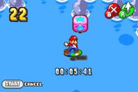 The Surfing minigame in both versions of Mario & Luigi: Superstar Saga