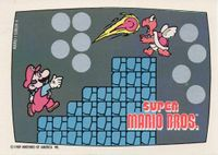 A Nintendo Game Pack scratch-off game card of Super Mario Bros. (Screen 4 of 10)