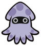 Poison Blooper from Paper Mario: Color Splash