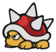 Spiny sprite from Paper Mario: Color Splash