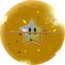 Rendered model of the Star Ball in Super Mario Galaxy.
