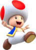 Artwork of Toad for Super Mario Run