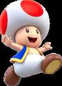 Artwork of Toad for Super Mario Run