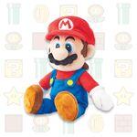 Mario plush from Super Nintendo World