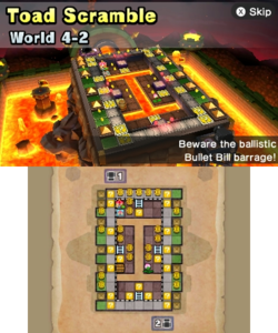 World 4-2 from Mario Party: Star Rush