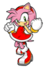 Amy Rose Sticker.png