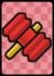A Big Eekhammer Card in Paper Mario: Color Splash.