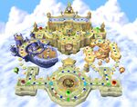 Clockwork Castle board during the daytime in Mario Party 6