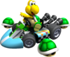 Artwork of Koopa Troopa, from Mario Kart Wii.