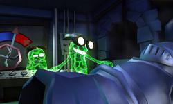 The Underground Lab in Treacherous Mansion