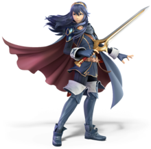 Lucina from Super Smash Bros. Ultimate