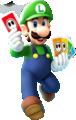 Luigi Card Artwork - Mario Party Island Tour.png
