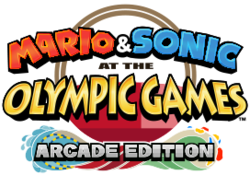 Mario & Sonic at the Olympic Games Tokyo 2020 - Arcade Edition tentative logo
