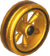 The Wood8_Gold tires from Mario Kart Tour