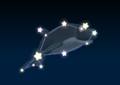Dolphin's constellation in the game Mario Party 9.