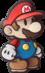 Marioartwork from Paper Mario: Sticker Star