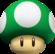 1-Up Mushroom from New Super Mario Bros..