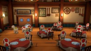 Tangerino Grill from Paper Mario: Color Splash