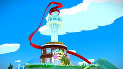 Overlook Tower in Paper Mario: The Origami King