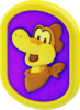 Model of a Plessie Medal from Super Mario 3D World + Bowser's Fury