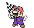 SMBPW Mario and Finish Flag.png