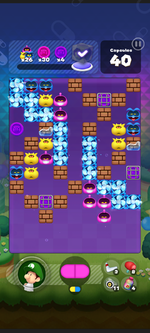 World 7's Special Stage from Dr. Mario World