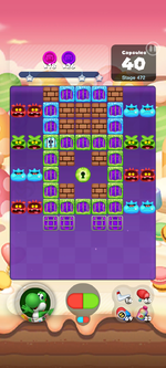 Stage 472 from Dr. Mario World