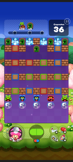 Stage 527 from Dr. Mario World