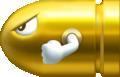 Gold Bullet Bill Artwork - New Super Mario Bros. 2.png