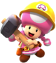 Builder Toadette from Mario Kart Tour