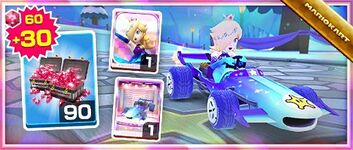 The Rosalina (Aurora) Pack from the Snow Tour in Mario Kart Tour