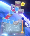 The map icon of Super Galaxy